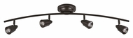 AFX TRRF4200LEDRB3K Oil Rubbed Bronze Modern 4 Lamp LED Monorail Lighting