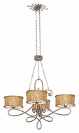 Kalco 6582 Whitfield Medium Traditional 47 Inch Diameter Chandelier Lighting