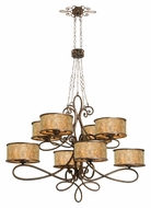 Kalco 6583 Whitfield Large 59 Inch Diameter Antique Hanging Chandelier