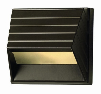 Hinkley 1524BZ Deck & Step Contemporary Bronze Square Deck Sconce