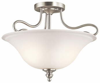 Kichler 42900NI Tanglewood Brushed Nickel Ceiling Lighting Fixture