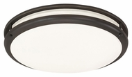 AFX CCF12122C930ENRB 12 Inch Diameter Transitional Oil Rubbed Bronze Ceiling Light