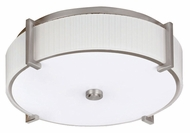 AFX MIDF413SNMV Satin Nickel 22 Inch Diameter Transitional Overhead Lighting - Large
