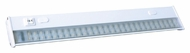 AFX ACU22LWH Large White 28 Inch Long Transitional LED Under Cabinet Lighting