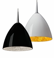 Bruck Cleo LED Contemporary Style Pendant Light Fixture - 6 Inch Diameter
