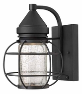 Hinkley 2250BK New Castle 9 Inch Tall Nautical Black Finish Outdoor Lighting Sconce