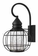 Hinkley 2255BK New Castle Outdoor Black 19 Inch Tall Black Nautical Lighting Sconce - Large