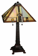 Meyda Tiffany 138773 Prairie Wheat Harvest 26 Inch Tall Tiffany Living Room Table Lamp