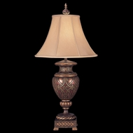 Fine Art 154310 Villa 1919 Traditional 33 Inch Tall Rich Umber Table Top Lamp