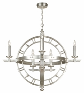 Fine Art 860140 Liaison Transitional 37 Inch Diameter 8 Candle Lighting Chandelier