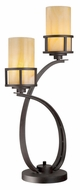 Quoizel KY6328IB Kyle Imperial Bronze 2 Lamp 30 Inch Tall Table Lamp