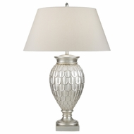 Fine Art 829210 Recollections Platinized Silver Leaf Living Room Table Lamp - Contemporary
