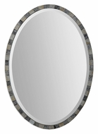 Uttermost 12859 Paredes Transitional 29 Inch Tall Wall Mounted Oval Mirror