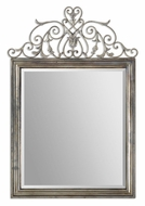 Uttermost 12865 Kissara 58 Inch Tall Traditional Wall Mirror - Tarnished Silver