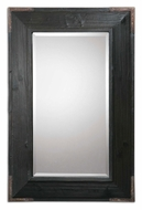 Uttermost 07643 Carino Fir Wood Frame 38 Inch Tall Wall Mounted Mirror