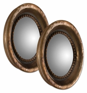 Uttermost 12847 Tropea Rounds Plated Copper 17 Inch Diameter Convex Mirror