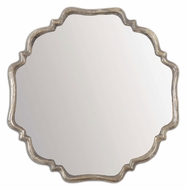 Uttermost 12849 Valentia Plated Oxidized Silver Home D�cor Wall Mirror
