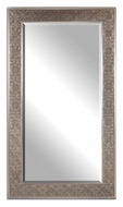Uttermost 14225 Villata Heavy Bronze Wash 70 Inch Tall Rectangular Mirror