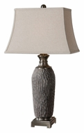 Uttermost 26442 Tricarico Dusty Gray Wash 36 Inch Tall Table Lighting