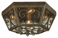Meyda Tiffany 130683 Camilla Traditional 20 Inch Diameter Flush Lighting Fixture
