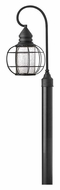Hinkley 2251BK New Castle Nautical 22 Inch Tall Post Lighting - Black