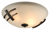 PLC 14872-ORB Antasia Oil Rubbed Bronze Ceiling Light - Medium