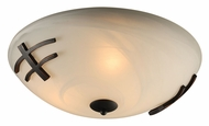 PLC 14875-ORB Antasia Flush Mount Lighting - Large