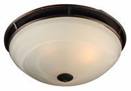 PLC 14889-ORB Compass Large Oil Rubbed Bronze Flush Lighting