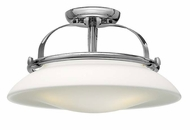 Hinkley 3321CM Hutton Transitional 16 Inch Diameter Chrome Flush Lighting