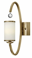 Hinkley 4851BC Monaco Brushed Caramel Finish 20 Inch Tall Modern Sconce Lighting