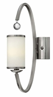 Hinkley 4851BN Monaco Contemporary Brushed Nickel 20 Inch Tall Wall Light Fixture