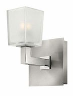 Hinkley 51560BN Zina Modern Brushed Nickel 7 Inch Tall Wall Lighting Fixture