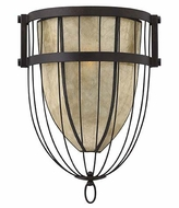 Fredrick Ramond FR42872VBZ Ava Vintage Bronze Finish 12 Inch Tall Wall Light Fixture - Transitional