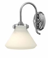 Hinkley 3170 Congress Opal Glass 11 Inch Tall Transitional Wall Light
