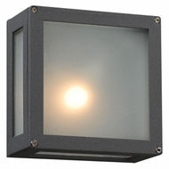 PLC 1309-BZ Bandero 6 Inch Wide Modern Outdoor Wall Lighting - Bronze