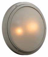 PLC 8039-SL Ricci II Large Outdoor Silver Lighting Sconce