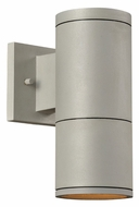 PLC 8032-AL Troll II Small Outdoor Security Light - Aluminum