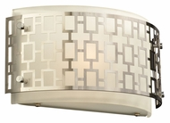 PLC 12153-PC Ethen Polished Chrome Contemporary Wall Light Fixture