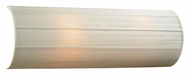 PLC 73062-BEIGE Ellipse-II Linen Shade 24 Inch Tall Lighting Sconce