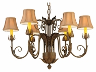 Meyda Tiffany 139594 Lindsay Traditional Style 29 Inch Diameter 6 Lamp Lighting Chandelier