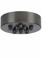 Tech 11 Port Mini Round Canopy - Line Voltage