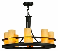 Meyda Tiffany 120449 Arion 8 Lamp Transitional Style Chandelier Light - 32 Inch Diameter