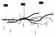 Meyda Tiffany 136710 Twigs Multipoint 5 Lamp Rustic Oil Rubbed Bronze Chandelier Light