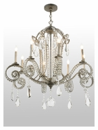 Meyda Tiffany 137323 Lucerne 8 Candle 40 Inch Diameter Large Hanging Chandelier