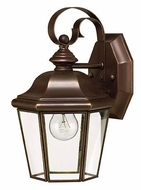 Hinkley 2420CB Clifton Park Copper Bronze 10 Inch Tall Outdoor Wall Lighting - Small