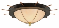 Meyda Tiffany 140743 Nautical Large 74 Inch Diameter Flush Mount Lighting