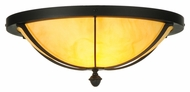 Meyda Tiffany 140926 Dominga 20 Inch Diameter 2 Lamp Flush Mount Lighting