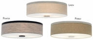 LBL Fiona 18 Fabric Drum Flush Mount Ceiling Lighting