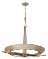 Corbett 171-410 Sublime 20 Lamp Contemporary Large Pendant Light Fixture - Tranquility Silver Leaf