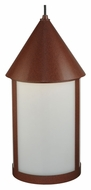 Meyda Tiffany 140759 Julian Rust Finish 9 Inch Diameter Mini Pendant Lamp